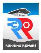 Running Repairs logo